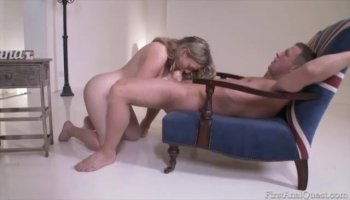 anal - fucking Ex-Freundin in den Arsch mit Cumshot