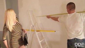 Housewives saugen Hahn am cfnm Partei